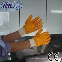 NMSAFETY интерлок лайнера полный нитрила ближнего перчатки доказательства масла апельсина