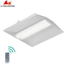 30watt 36watt 4ft 2 côté encastré d'urgence acrylique conduit troffer lumière acrylique