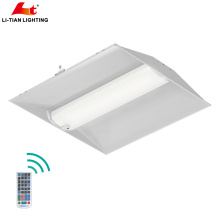 O dispositivo elétrico claro do diodo emissor de luz de Dimmable 2x2 FT Troffer, 40W, umidade avaliou, o painel do Lay-In do diodo emissor de luz de 24x24 polegadas