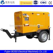 portable diesel generator with Yanmar engine 11KW Silenced Genset