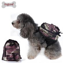 Saco de Viagem ao ar livre Camuflagem Do Cão Camping Caminhadas Pequeno Médio Pet Dog Food Packaging Bag