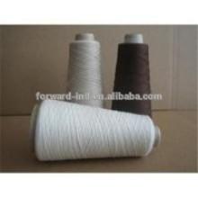 fil de polyester à extrémité ouverte pour le tricotage de chaussettes