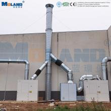 Collecteurs de poussière industriels / système de filtration d'air