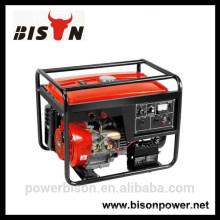 BISON (CHINA) BS generador de soldadura diesel precio tipo abierto