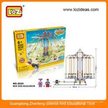 LOZ Pädagogische Gebäude Ziegelsteine Spielzeug