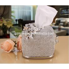 Ювелирные изделия украшали роскошные коробки ткани дома используется элегантная коробка смолаы искусства ткани поделки