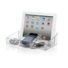 Acrylic Smartphone Tablet Desktop Organizer Electronics Display