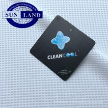 Forro ligero transpirable zapato camisa ropa 100% poliéster cleancool ion iónico antibacteriano tejido de plata