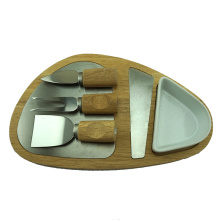 cheese board 3 pcs cheese cooking knife set