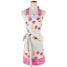 Fashion Kitchen Bib Aprons for Promotion Girls
