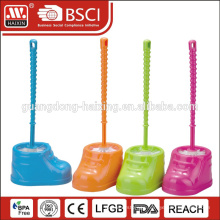 Haixing cleaning brush holder,Plastic toilet brush,toilet brush set WITH BASE