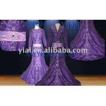 2011 novo vestido de baile real real roxo hh0034