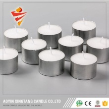 14g burning time 4-4.5h colored tealight candle