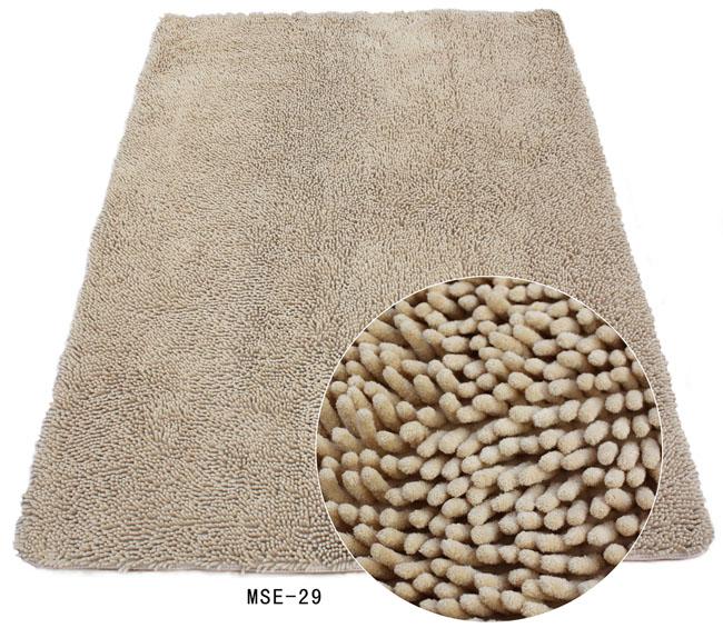 Microfibre Chenille carpet