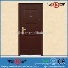 JK-S9406 Porta de ferro simples de segurança de aço