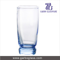 Solid Material Blue Drinking Glass Tumbler