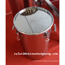10L 20L 30L 50L 60L 70L 100L GMP Stainless Steel Bucket with Good Sealing SUS 304 SUS 316L