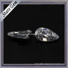 Fashion Jewellery Drop Shape Synthetic CZ Gemstone