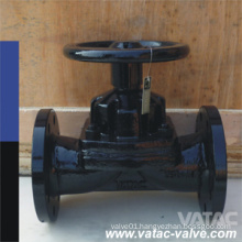 Straight Through Handwheel PTFE/EPDM Lined Gg25/A126 B Diaphragm Valve
