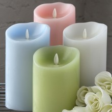 Luminara Holiday velas Flameless conjunto com temporizadores