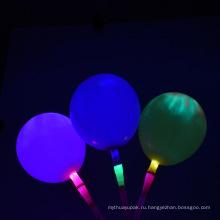 Светодиод мигает Bolloon Латекс гелием воздушный шар латекса мигающие Воздушные Шары