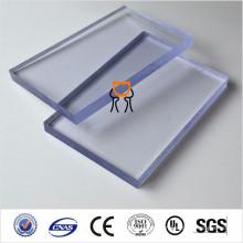 SGS ISO approuvé coulée transparent et transparent guidé lumière guide feuille acrylique