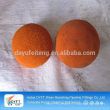 concrete pump cleaning ball for sale in india