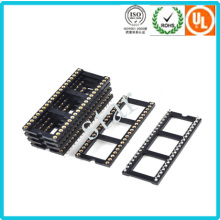 Fabrik benutzerdefinierte 2,54 mm 40 Pin Double Row Pin Header IC-Sockel