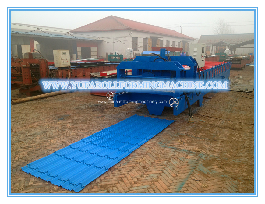 YF Fully Automatic Corrugated Glazed Tile Roll Forming Machine