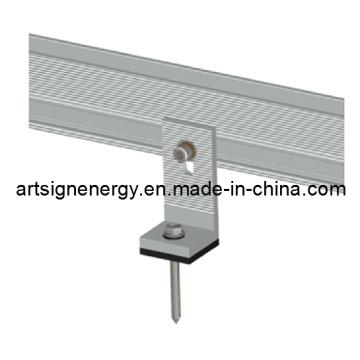 Supports de montage solaire toit de tôle