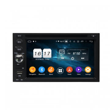 "Android 9.0 2din 6.2 ""universele auto dvd-speler"
