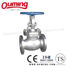 Vanne à gaz à bride en acier inoxydable ANSI