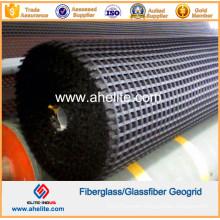 50kn/Mx50kn/M Fiberglass Geogrid Coated with Asphalt Bitumen