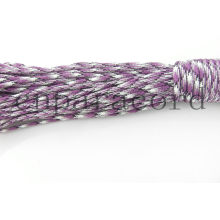 Purple camo 550 parachute cord polyester 100ft