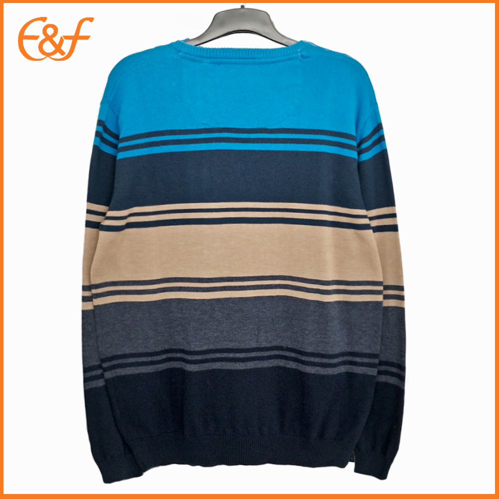 Stripe Nice Sweater for Guys