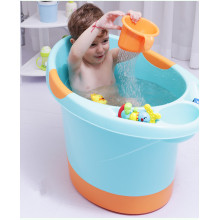 Own Designed Baby Plastic Deep Bathtub Double Bottom