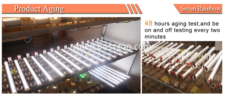 aging of 22w led 2g11