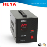 digital display relay type voltage regulator for home