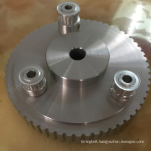 Timing Belt Pulley with Flange
