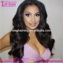 Atacado barato 180% densidade peruca cheia do laço 8a grau alta qulaity peruca de cabelo natural venda quente natural linha fina peruca cheia do laço