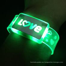 Año nuevo 2017 Love Light Led pulsera