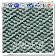 Warp вязание двухцветный 3d spacer ткань из воздушной сетки