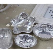 Tasses à cuire jetables en aluminium