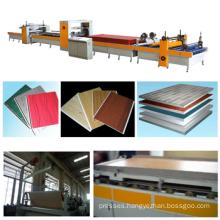 PUR hot melt glue laminate press for wooden boards/PVC laminate