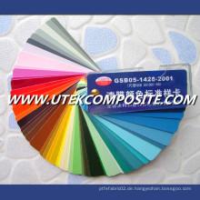 Verschiedene Arten von Farbpaste
