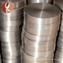 Chine Prix de disque de titane de surface lumineuse d'ASTM B381 Gr5 ti6al4v par kilogramme