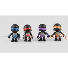 Mini personalizado teenage ação figura mutante PVC Ninja tartarugas brinquedo