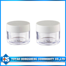 Hy-Pj-006e Straight Shape 10ml Plastic Jar with PP Cover