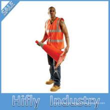 Colete de segurança reflexiva econômica de manga longa 3M colete de alta visibilidade