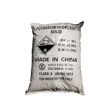 Pellets d'hydroxyde de potassium Europe